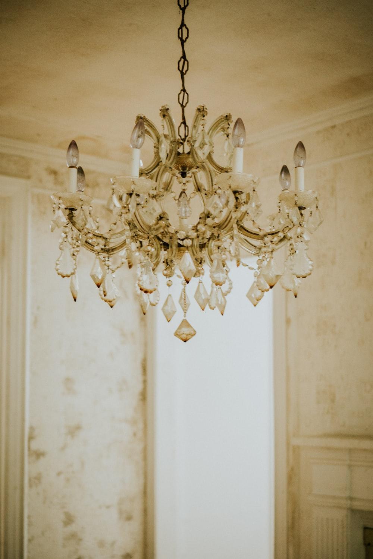 gold candelabra chandelier