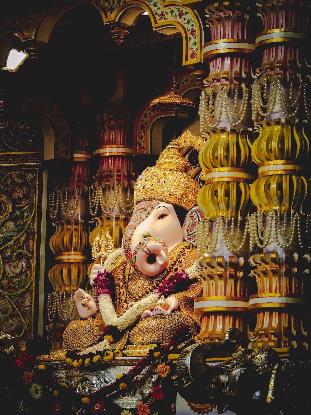 Lord Ganesha figurine