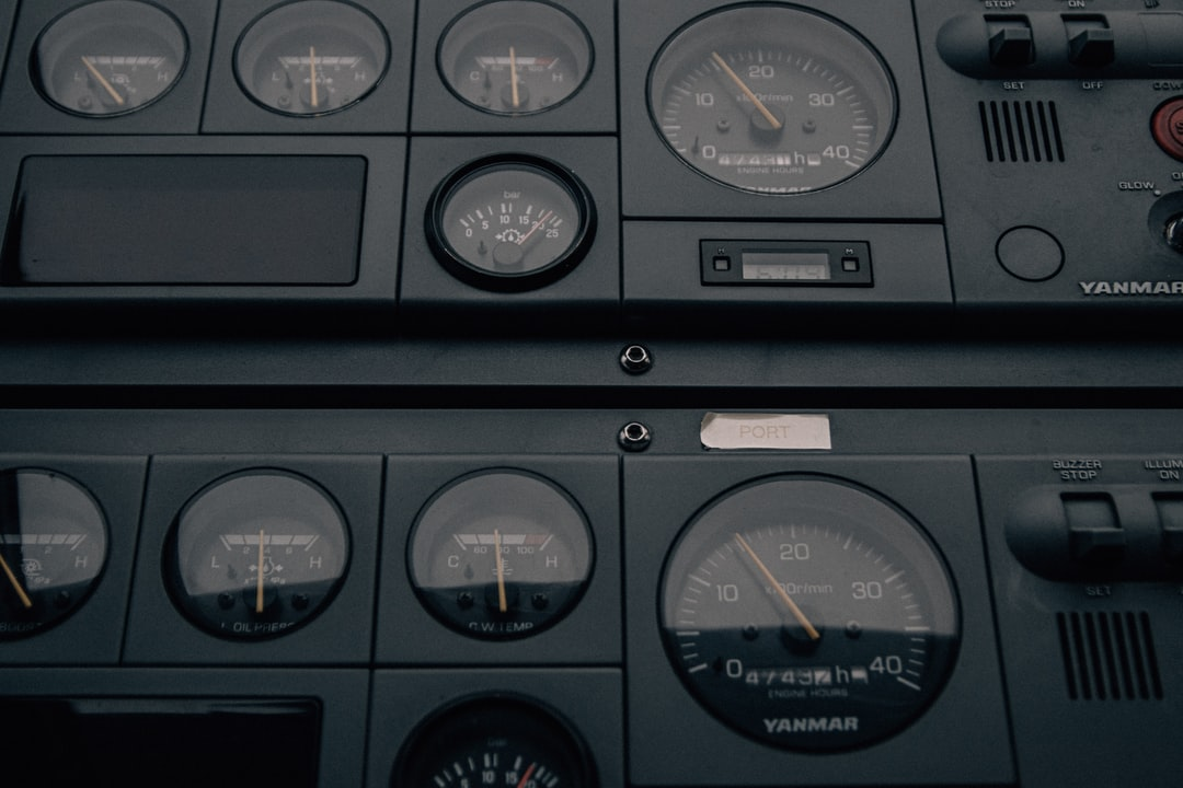 """""""Yanmar""""  There's something magical about equipment on boats. These analog gauges bring me back to a time where equipment was designed to serve a single purpose. Function before form."""