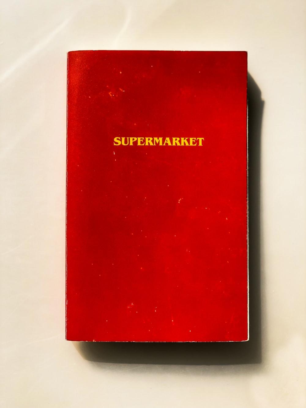 Supermatket book