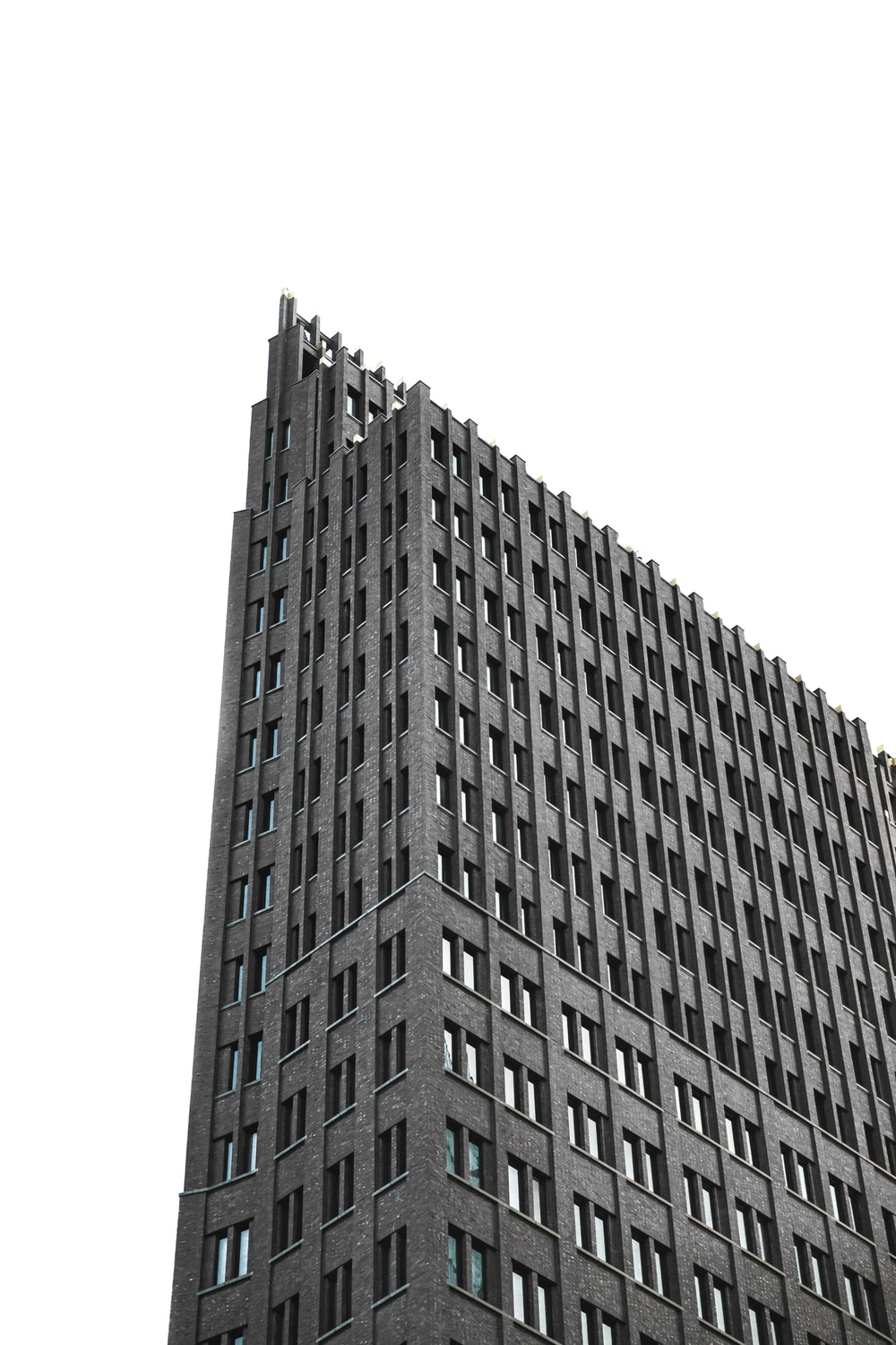 photo of gray coated building