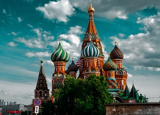 St. Basil's Cathedral at daytime