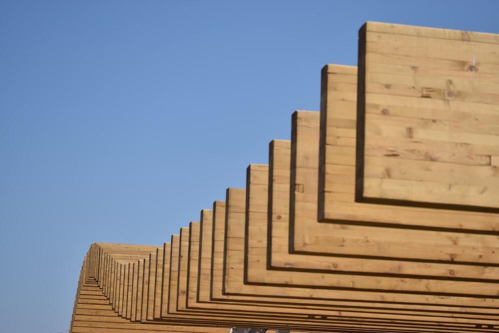 wood plank lot