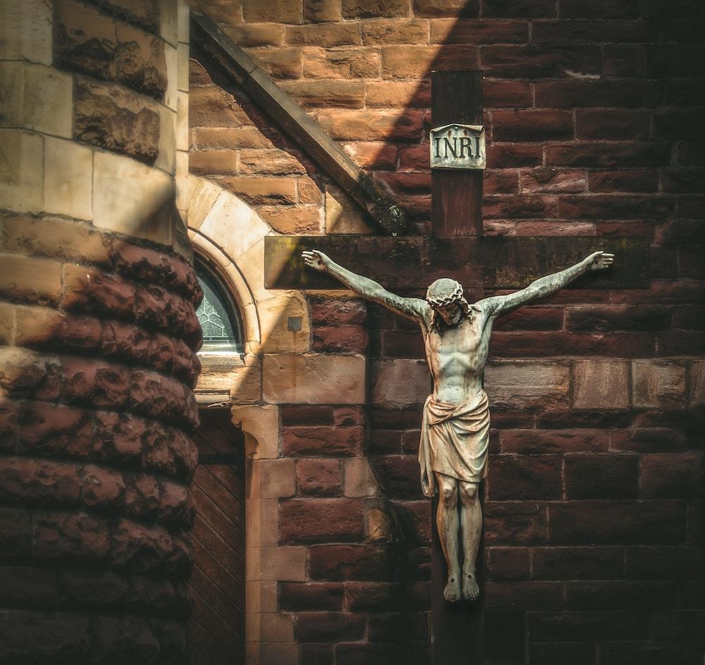 Jesus Christ on cross decor