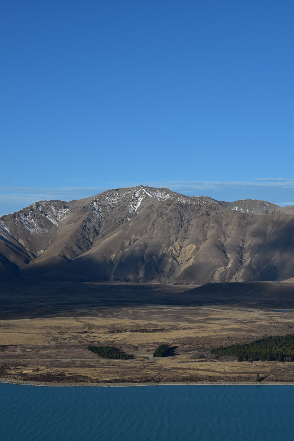 brown mountains