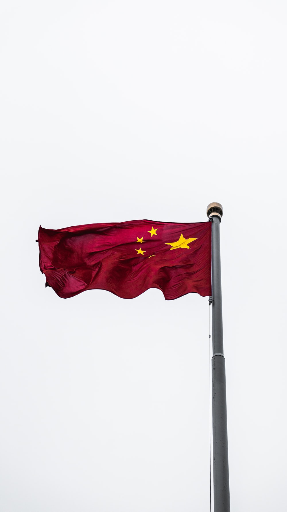 red national flag