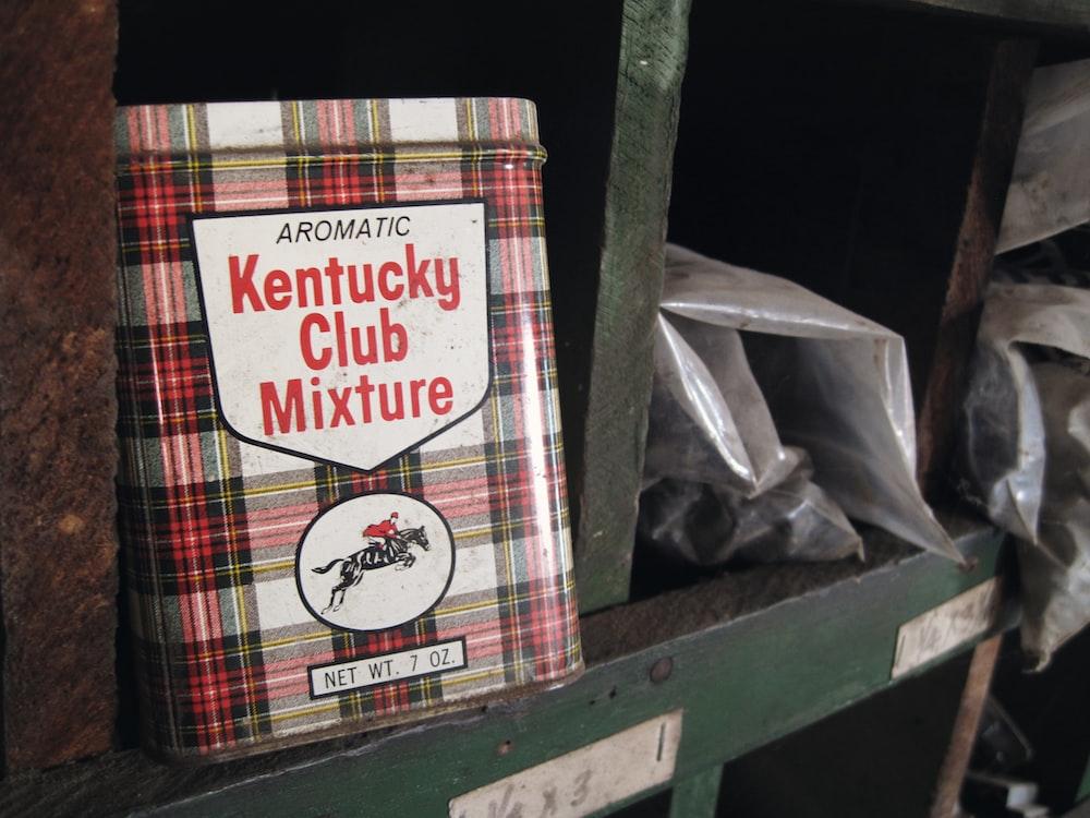 Aromatic Kentucky Club Mixture book