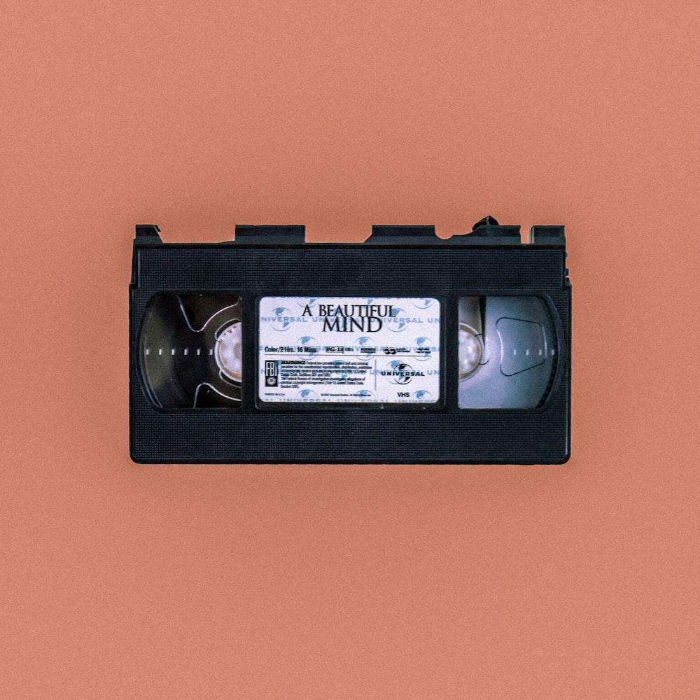 A Beautiful Mind cassette tape