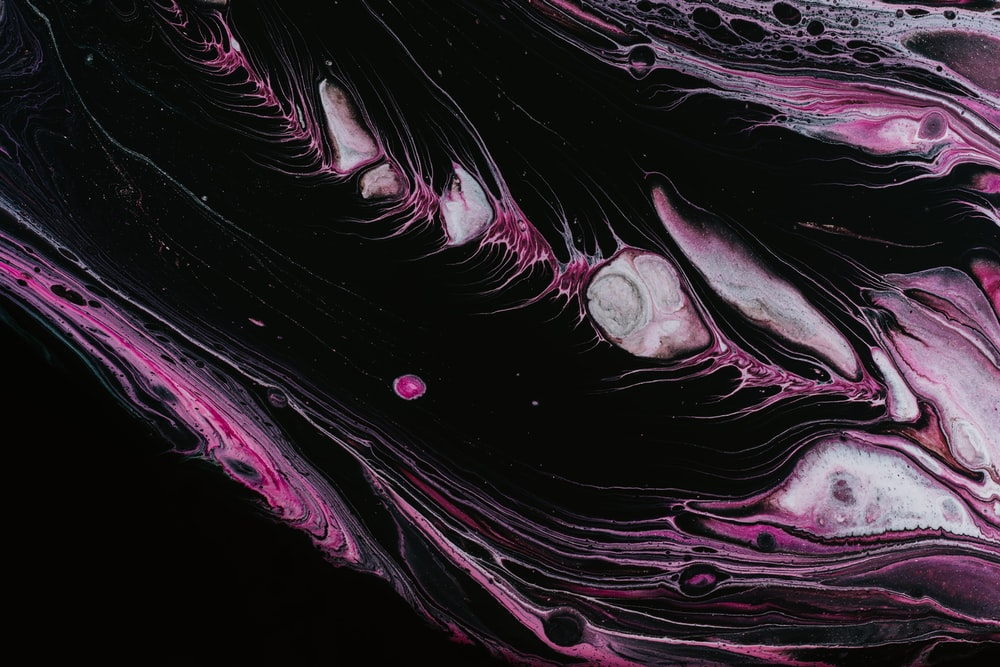 purple and black abstract illustration