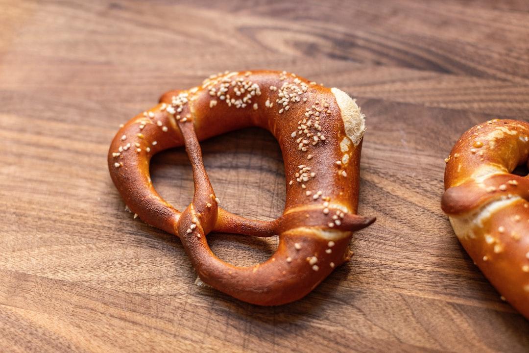 German style sourdough pretzel.