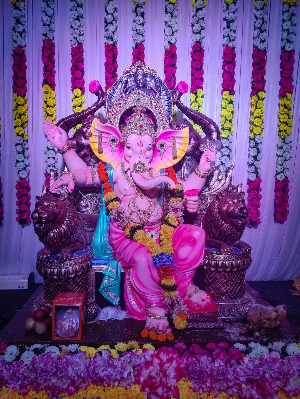 Celebration of Ganpati festival