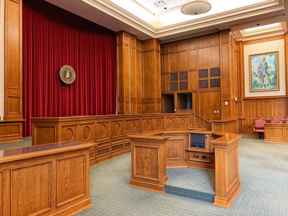 trial court interior view