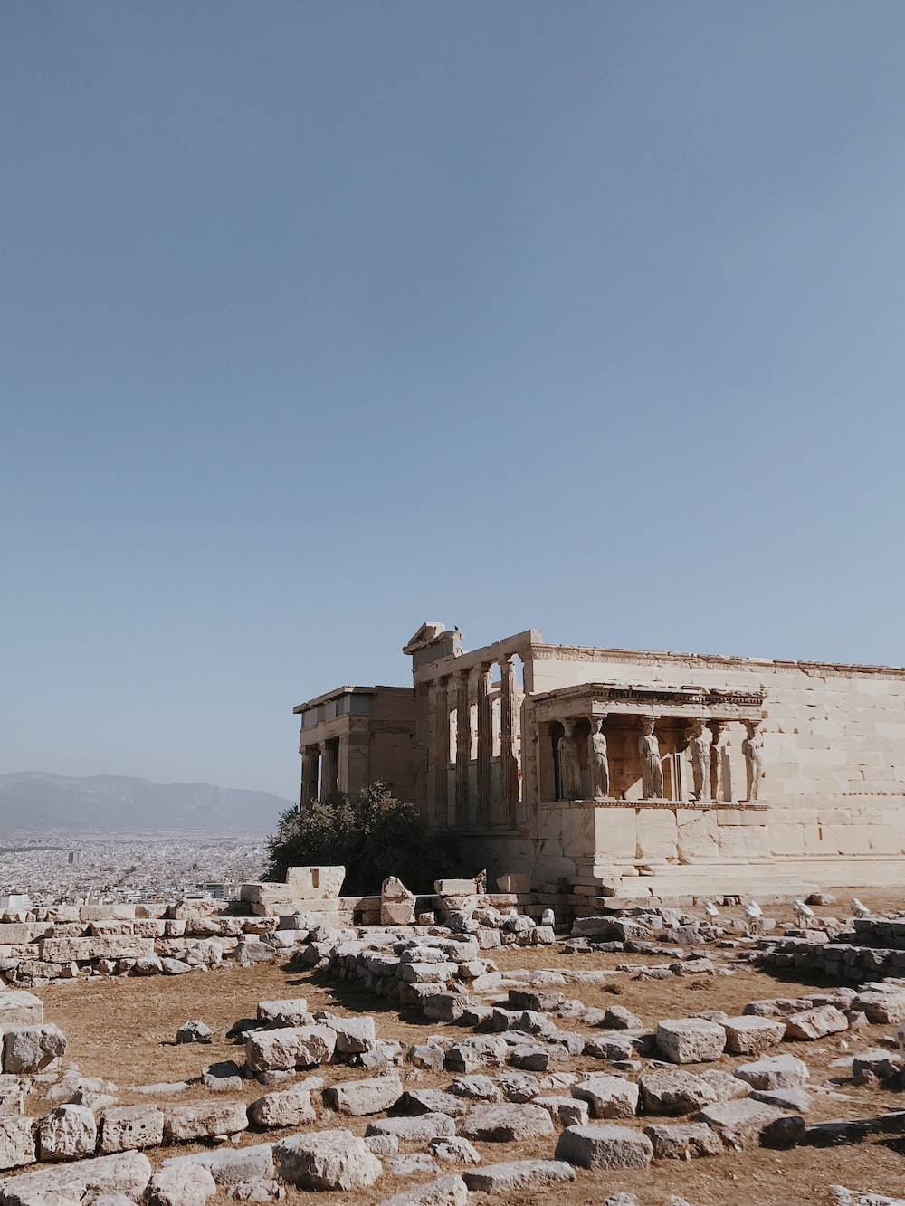 Erechtheion Ancient greek temple in Athens, Greece