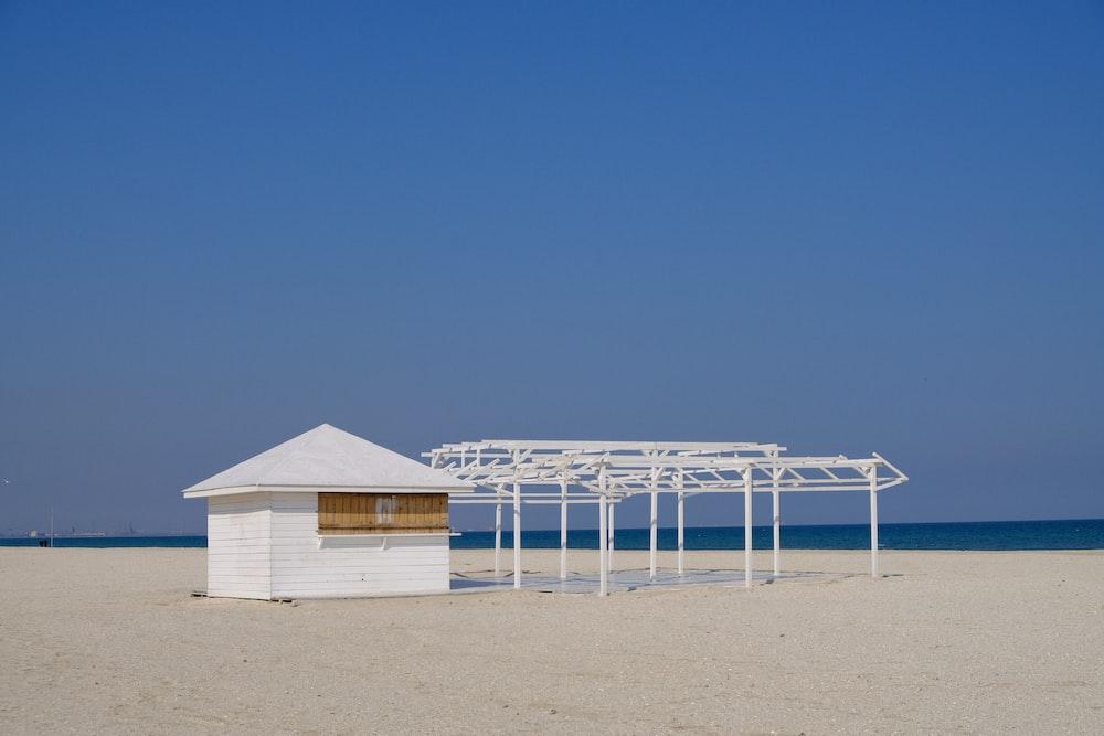house in seashore