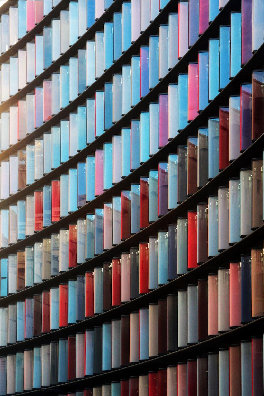colorful glass windows