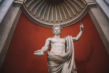 Sculpture of Tiberius Claudius Caesar Augustus Germanicus