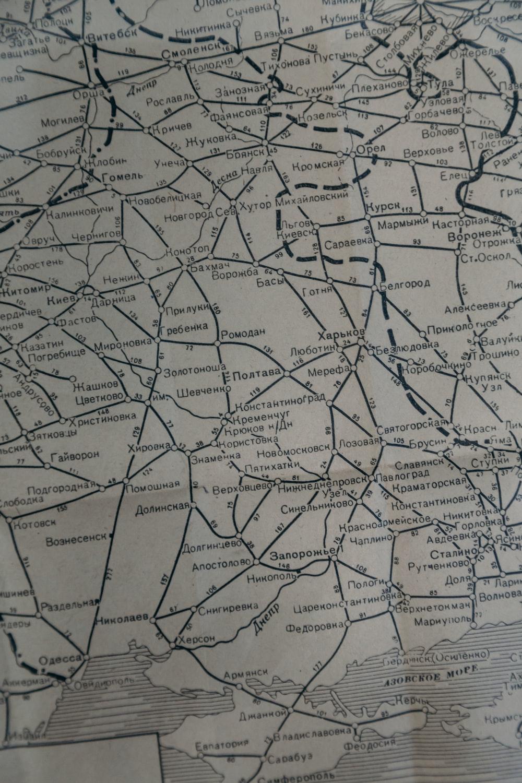 white map
