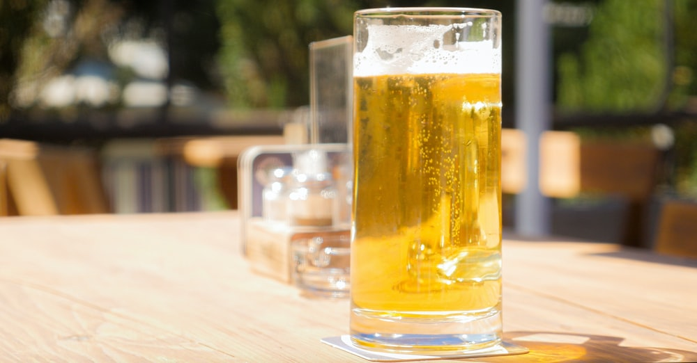 clear glass beer mug Cute First Date Ideas