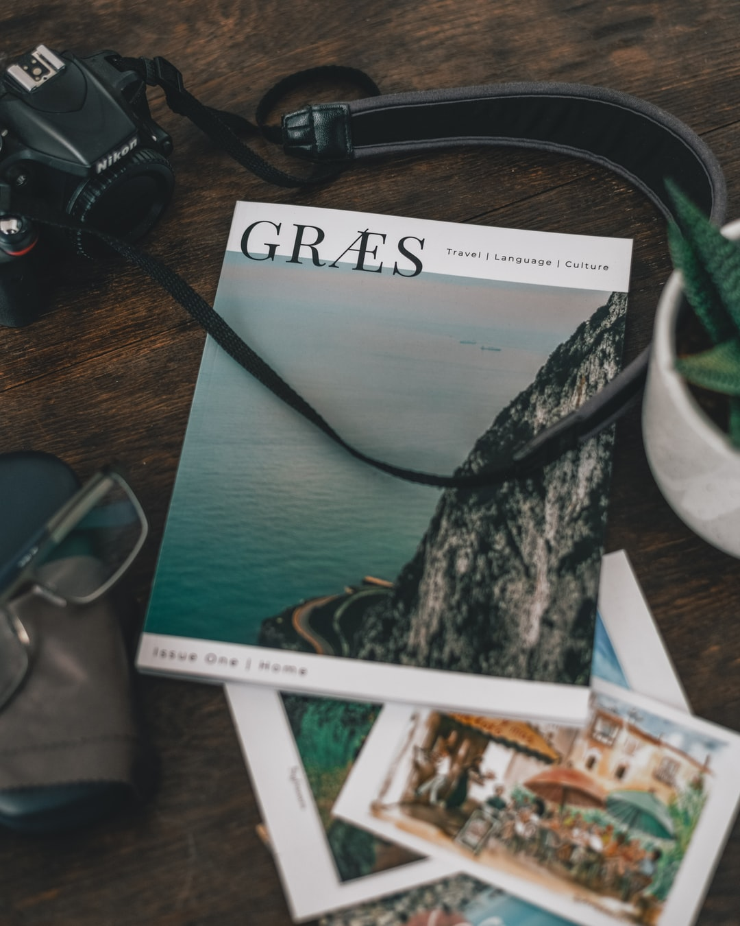 Issue one of GRÆS Magazine - an independent publication about language and travel