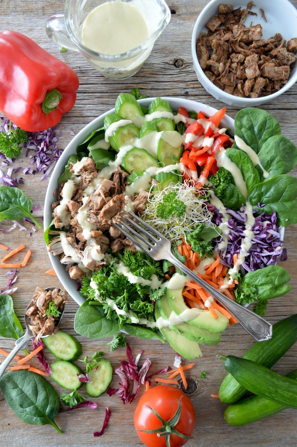 vegetable salad dish