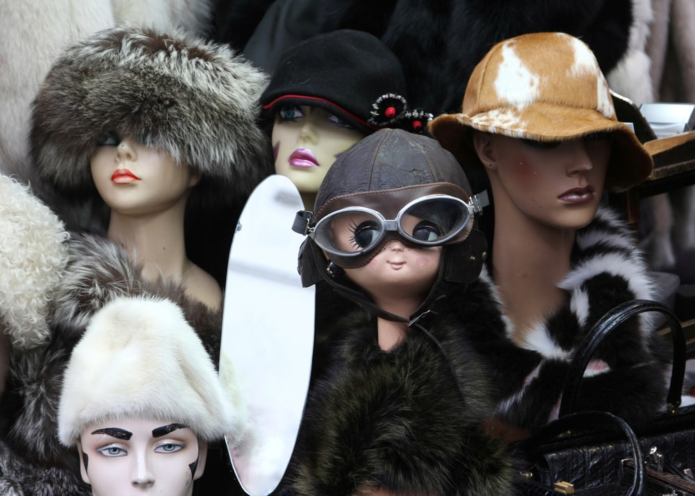 assorted mannequins and dolls