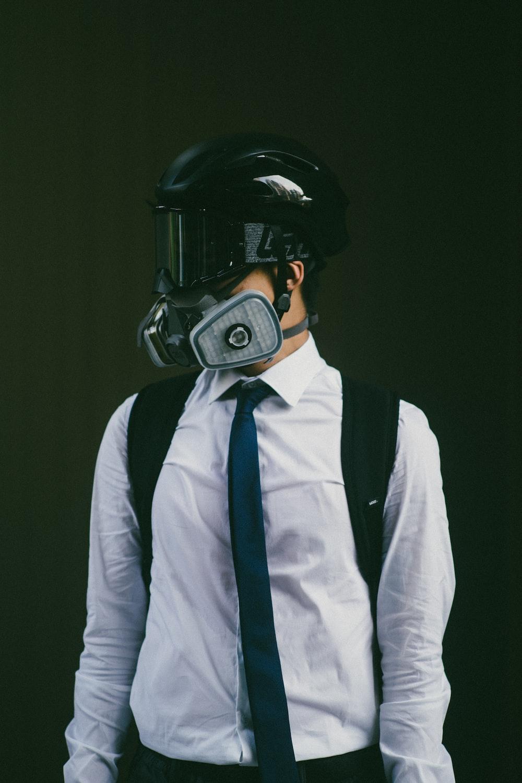 man wearing PUBG character costume