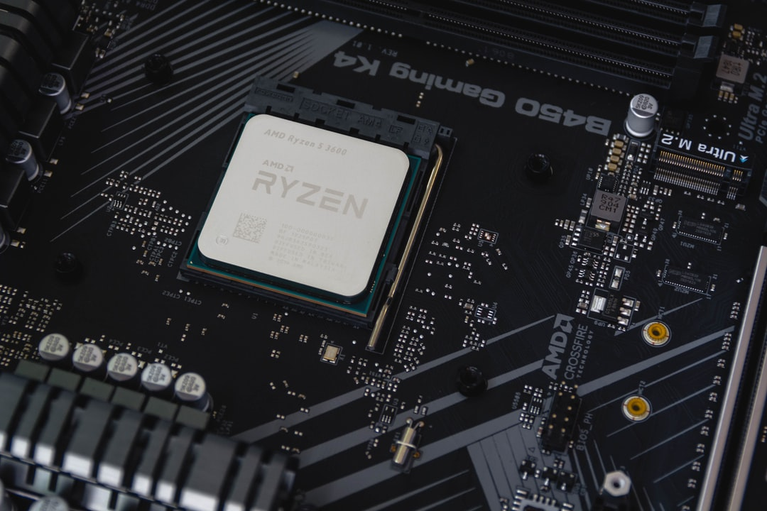AMD Ryzen 5 3600 Processor close up