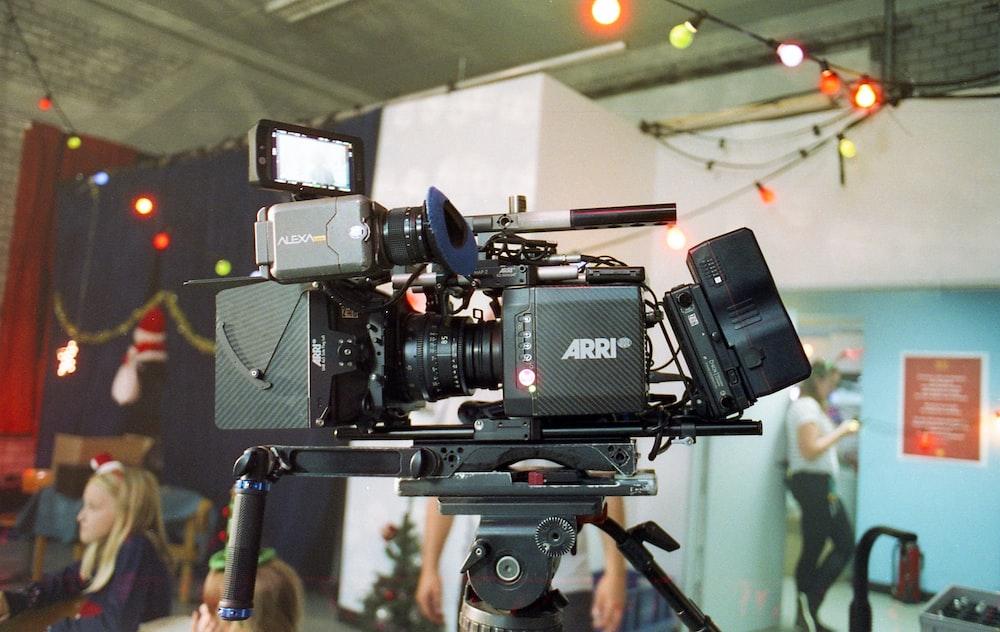 black video camera