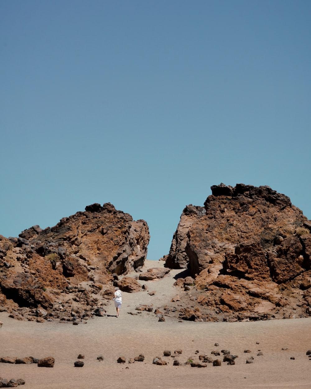 photo of rock formation seashore scenery