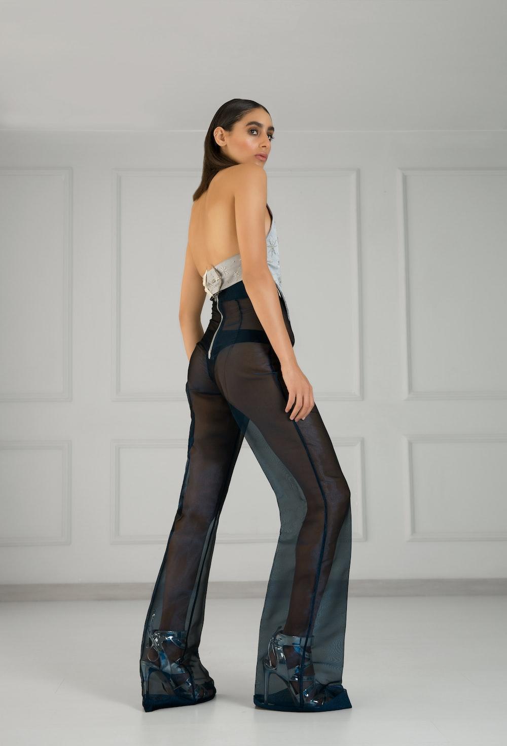 women's black pants
