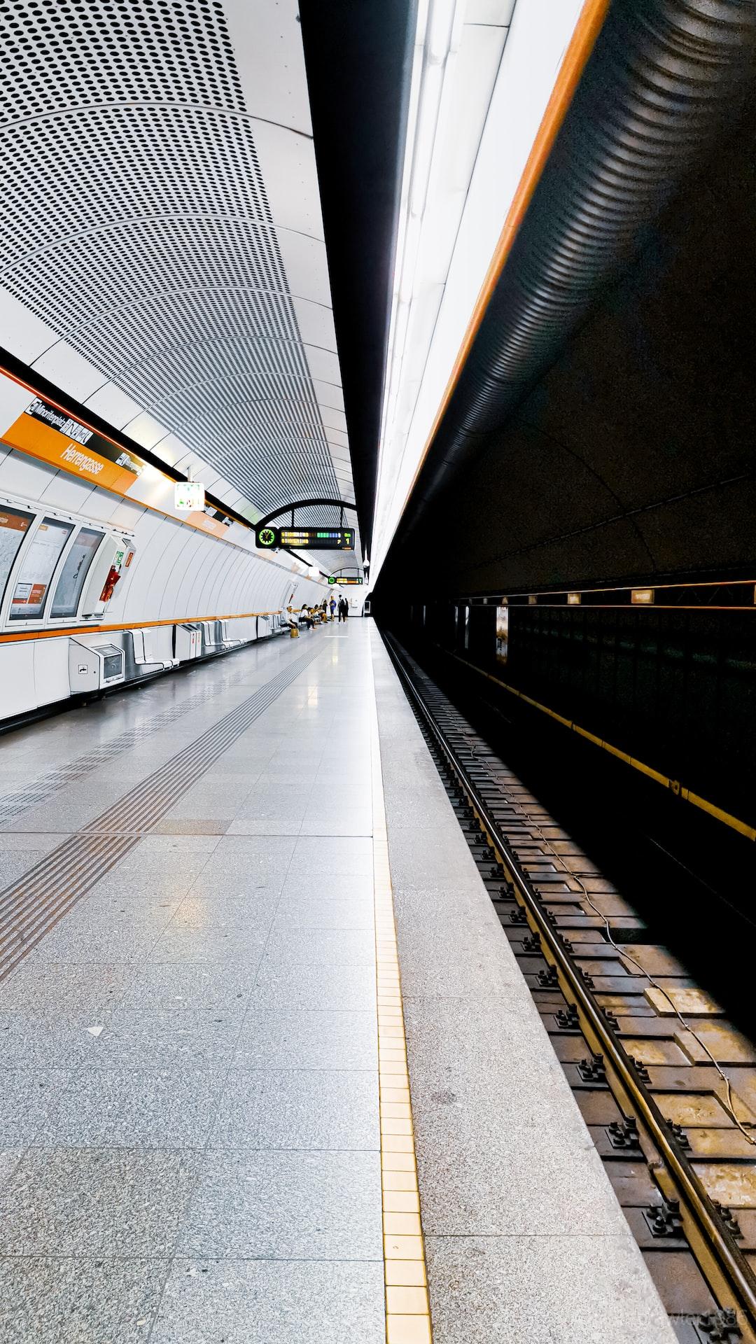 Herrengasse Station, Vienna Austria