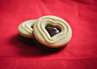 Cookies with a heart