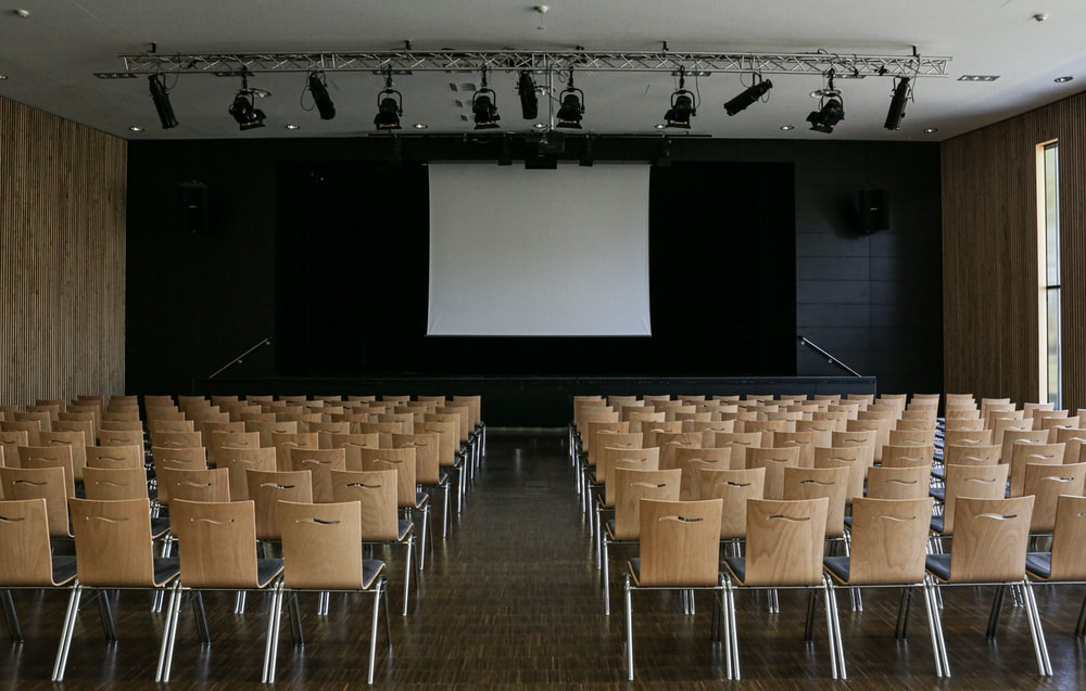 empty theater building interior