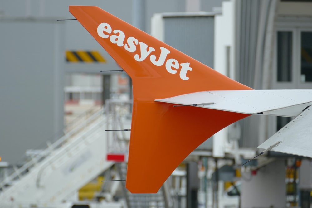 Easy Jet signage