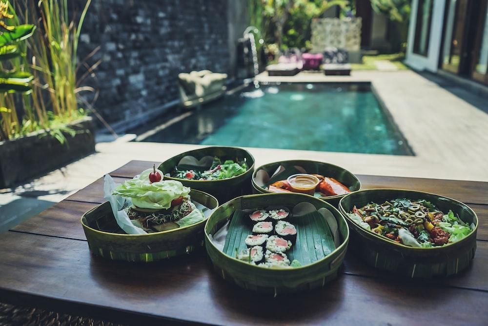 pile of sushi