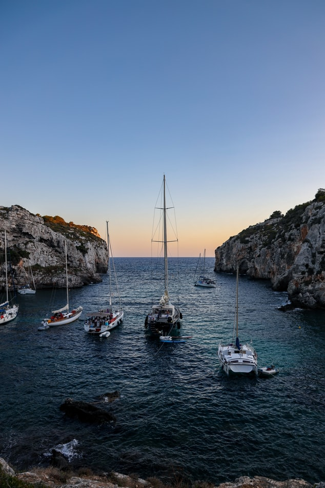 Lively Mahon Port one of the top things to do in Menorca
