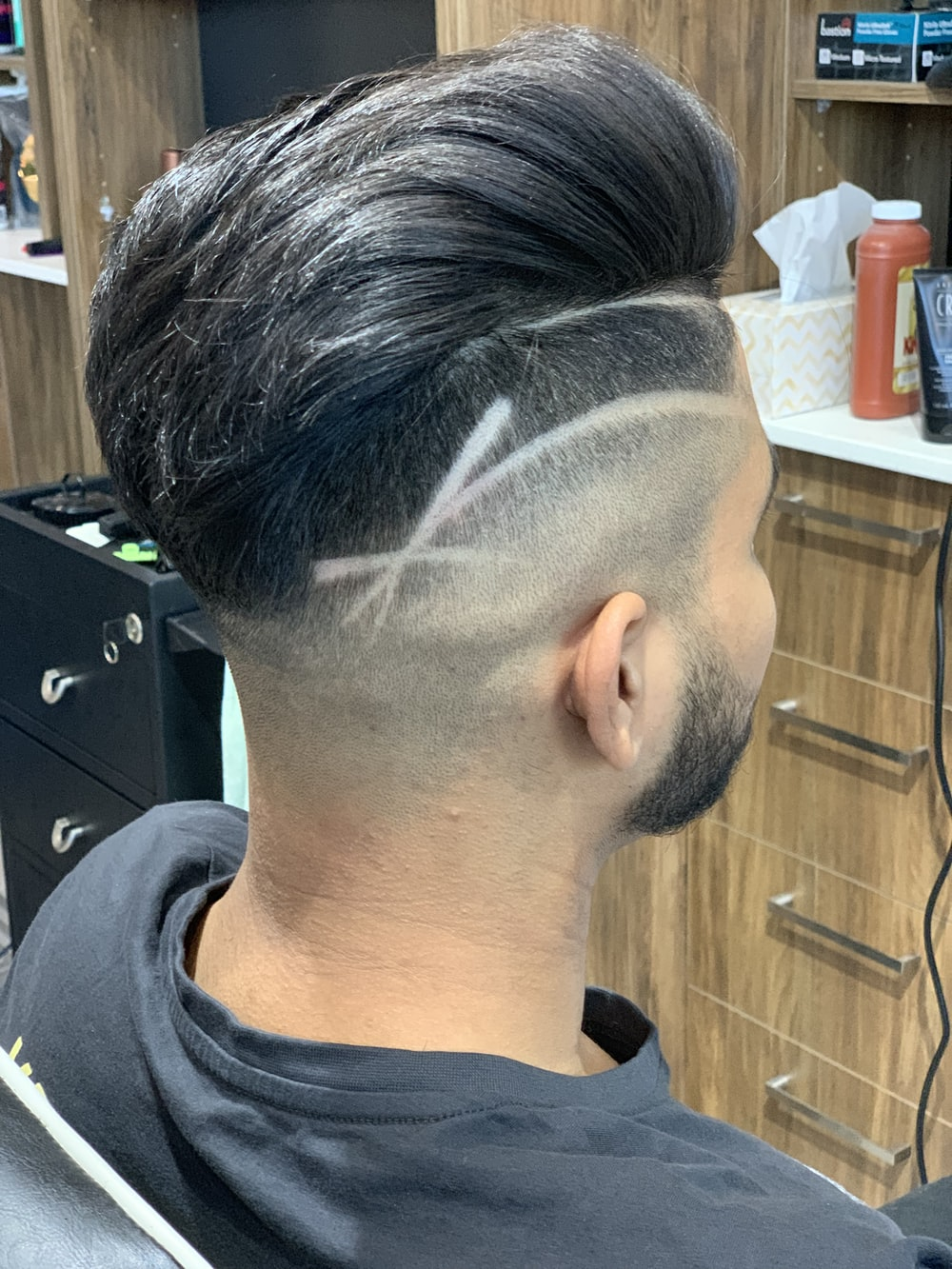 man's head