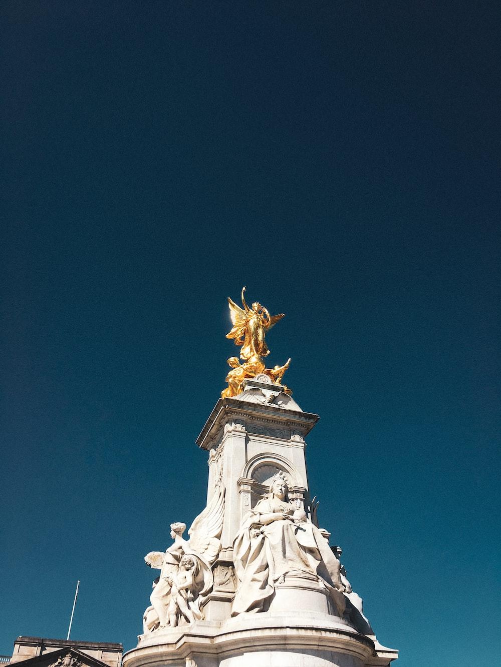 female angel statue view