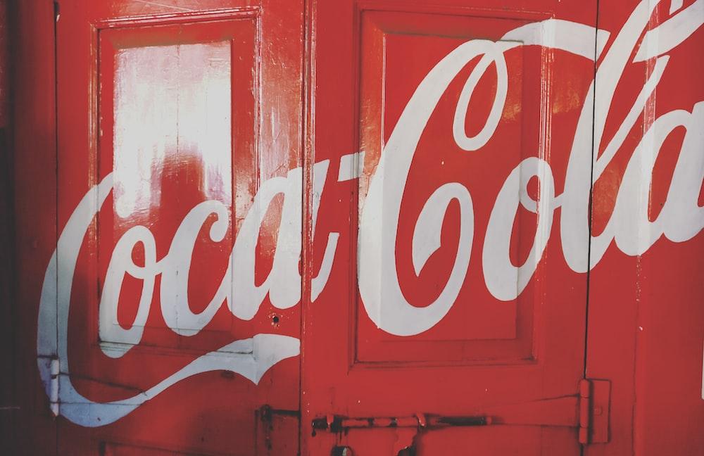 Coca-Cola door