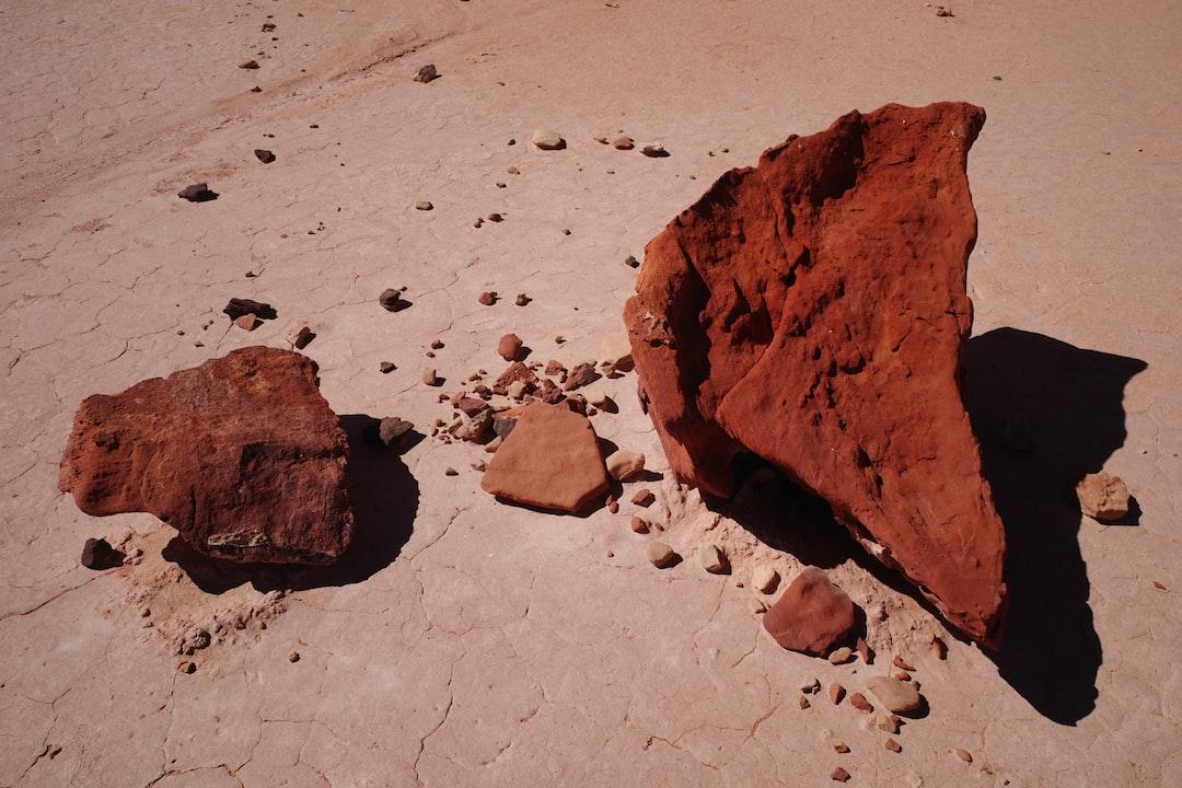 Rocks in the desert—Northern Territory, Australia