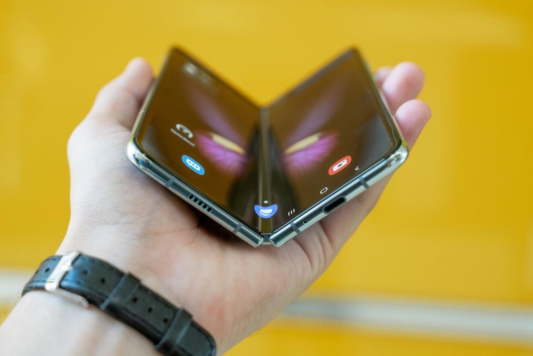 Samsung Galaxy Fold - folded.