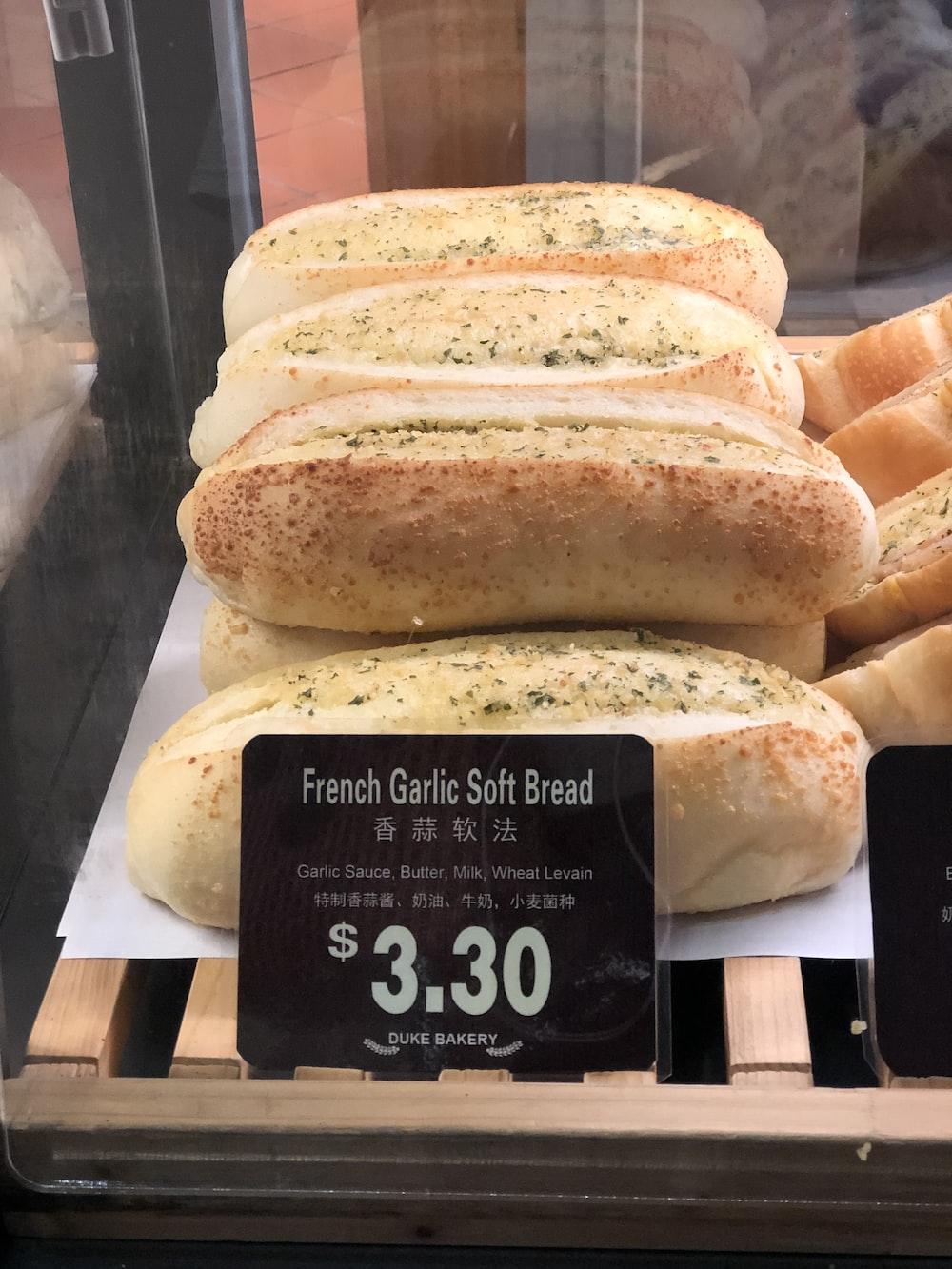 French garlic soft bread