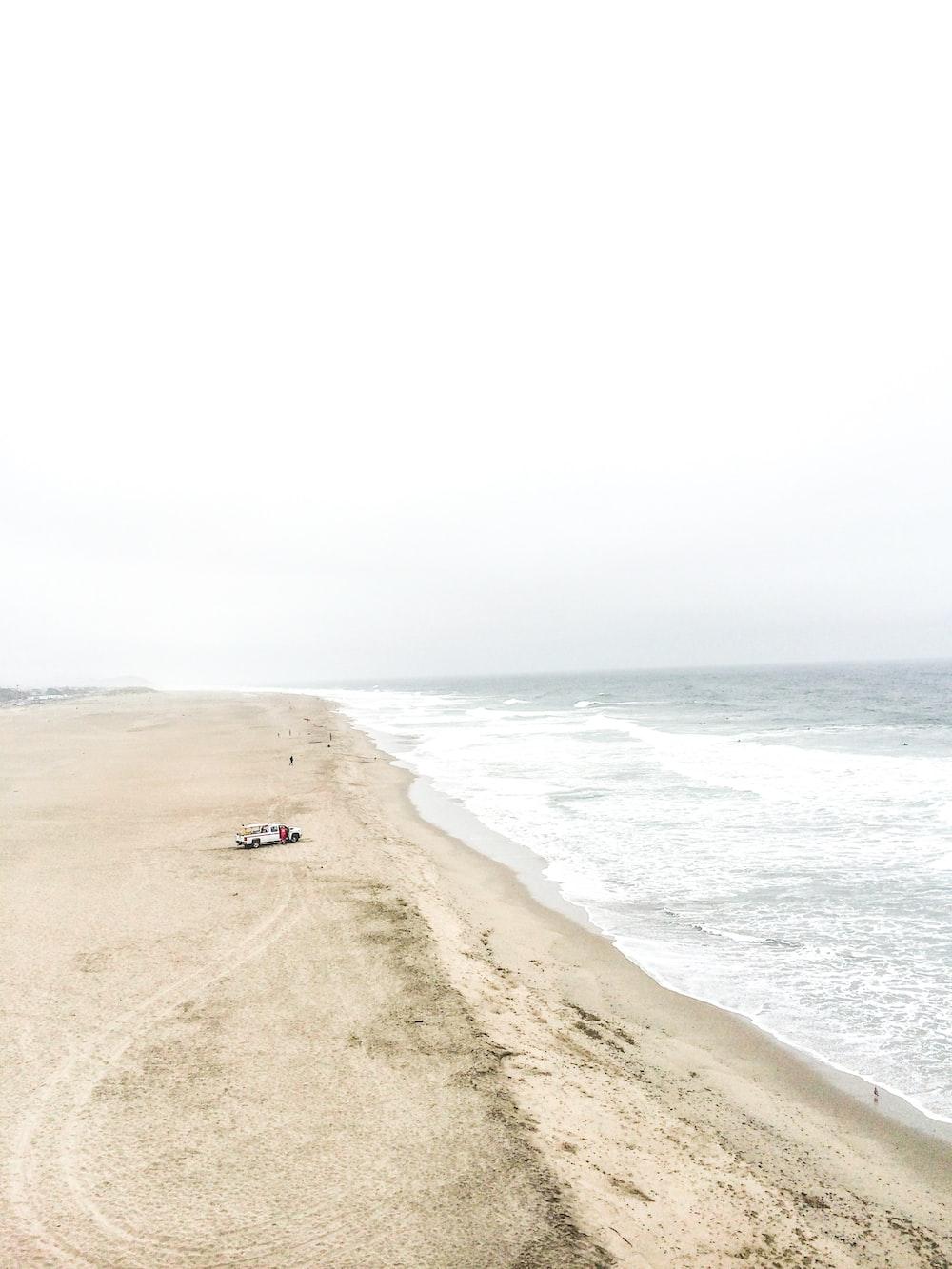 car near ocean