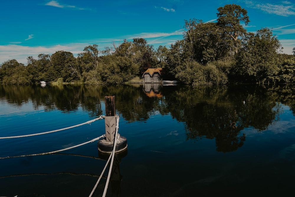 bouy on lake
