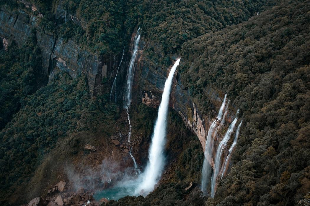 Shillong waterfalls