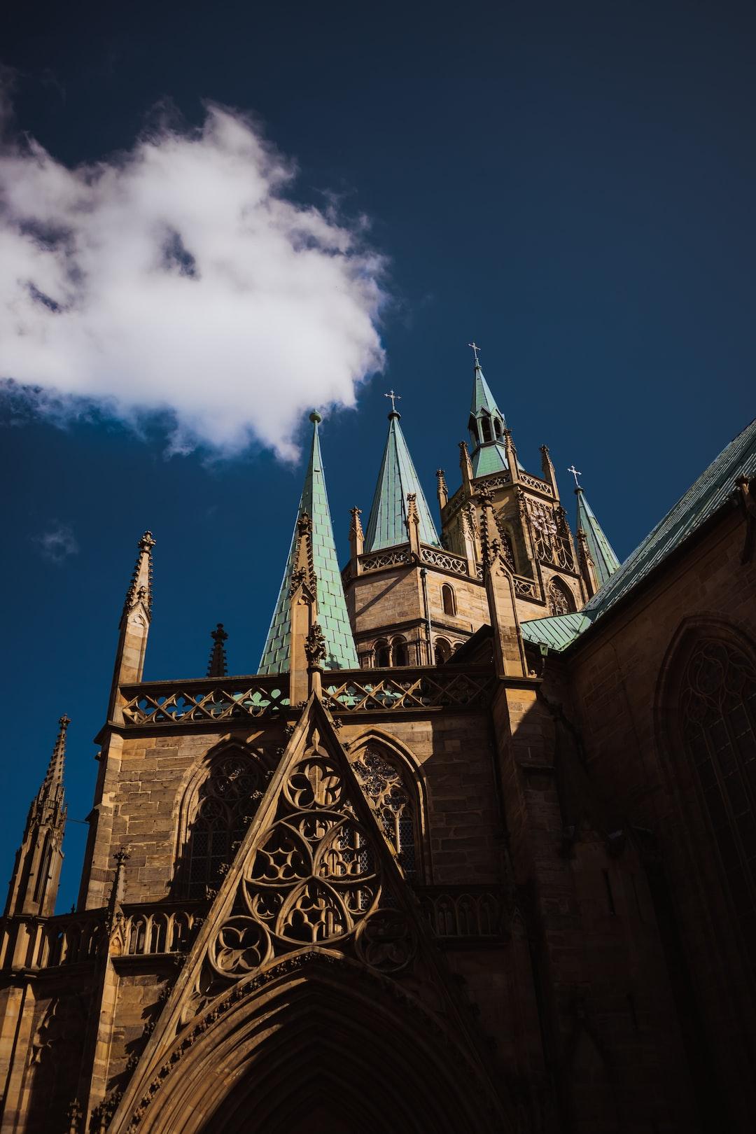 Dom in Erfurt (Germany).