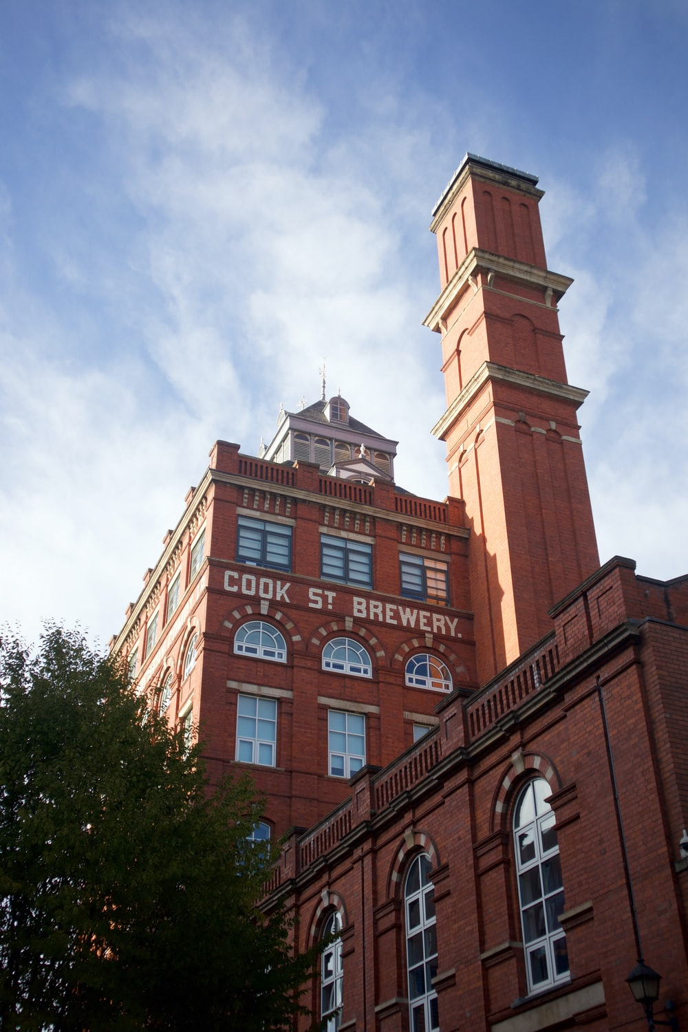 Cook St. Brewery building