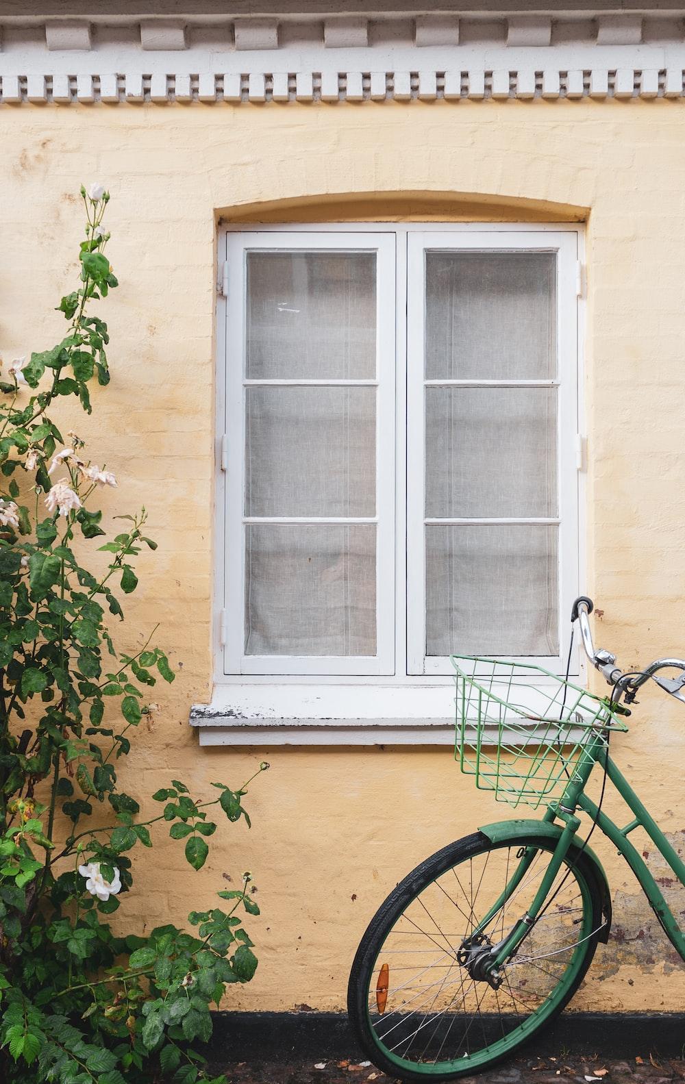 bike outside house