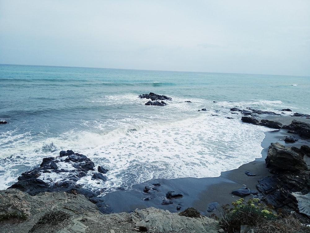 gray rocks