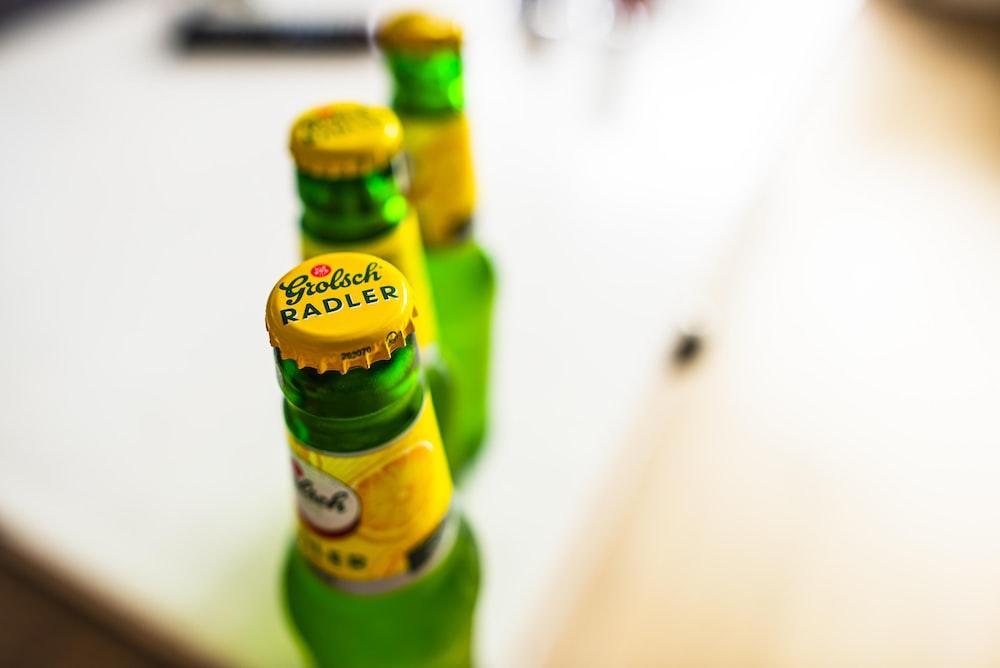 Radler beer bottle